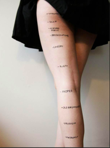 Women woman short skirt