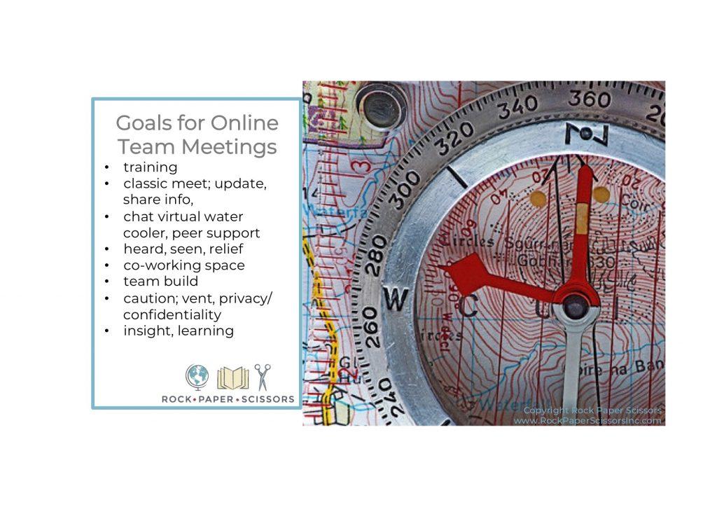 virtual teams Goals