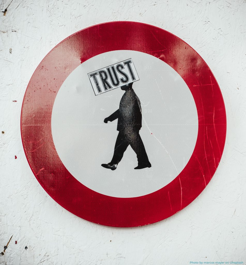 Ten top criteria for team trust; how many do you have?