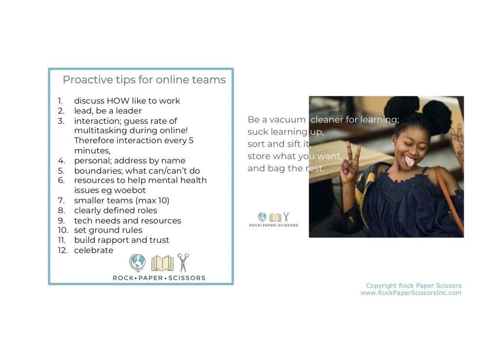 virtual teams 3 Tips