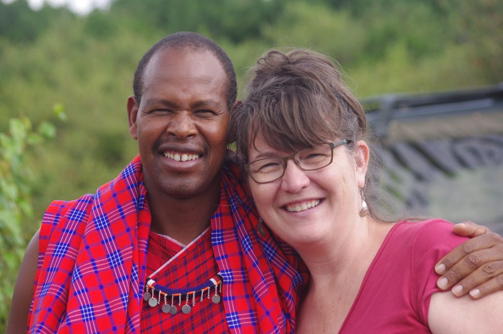 Jackson Maasai man jackson and me