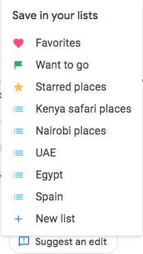 Google List